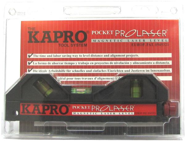 פלס מתקן לייזר 4 נקודות STABILA KAPRO