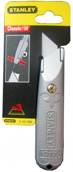 סכין קבועה אפור
