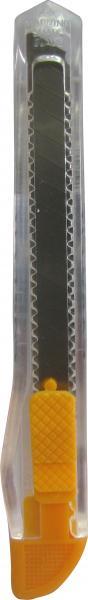 סכין 7602 יפני שקוף צר 120BP תפס צבעוני