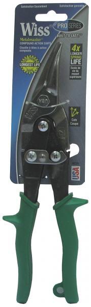 מספרי פח ימין WISS ירוק M-2R