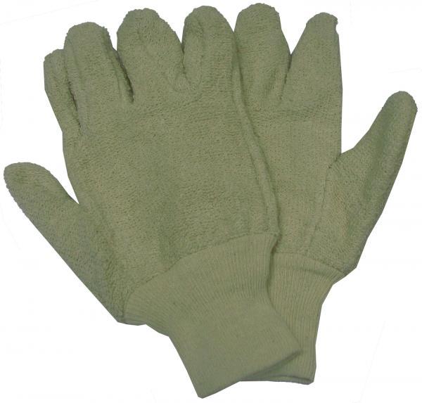 כפפות מגבת לחום עם אצבעות עם מנג'ט