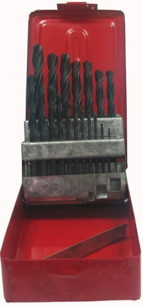 """סט מקדחים H.S סופר 1-10-כל 1/2 מ""""מ 19KM"""
