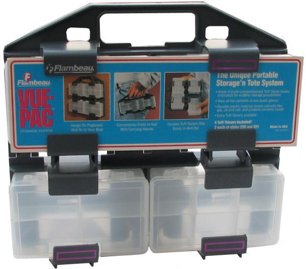 קופסאות רכיבים במתקן מתקפל קיים בשני גדלים