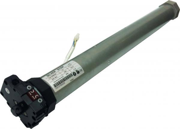 מנוע לתריס גלילה הפעלה ידנית (מנואלה) קוטר 59 מחבר מהיר SILVERSTAR