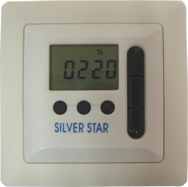 שעון שבת+מפסק WSRC004 SILVERSTAR