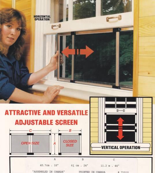 מתקן רשת נייד לחלון קנדי