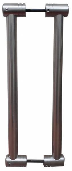 ידית צינור נירוסטה מודולארית (דגם מנט)