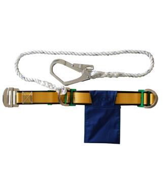 חגורה בטיחותית עם כבל אבטחה יחיד דגם TE5204
