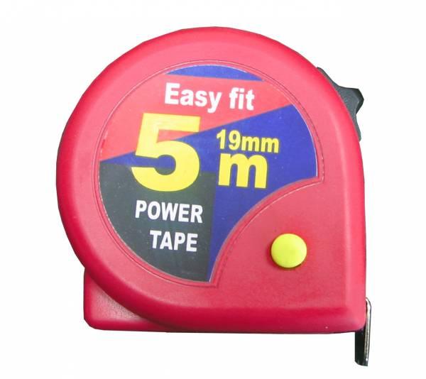 מטר פלסטיק 5 מ' דאבל סטופר     EASY-FIT