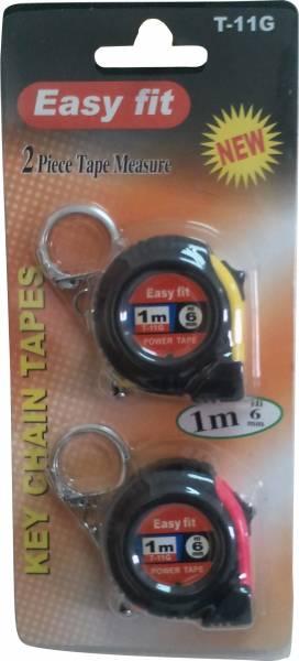 מטר מחזיק מפתחות 1 מ'  2 יח' בפלקט E.F