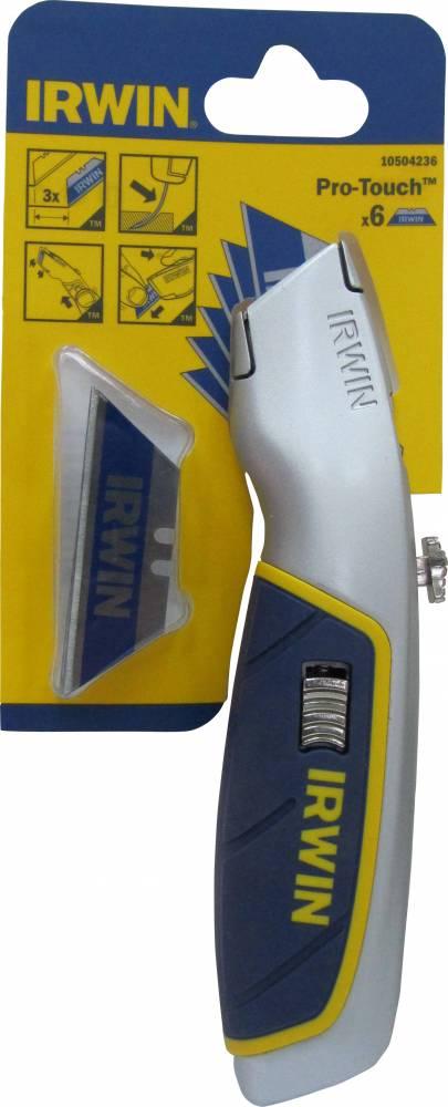 סכין זזה ד-קו' מקצועי + 3 להבים 10504236 IRWIN