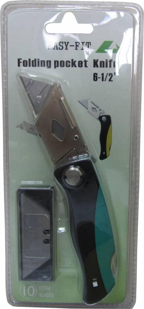 סכין אולר להב טרפז מקצועי EASY-FIT DX-39