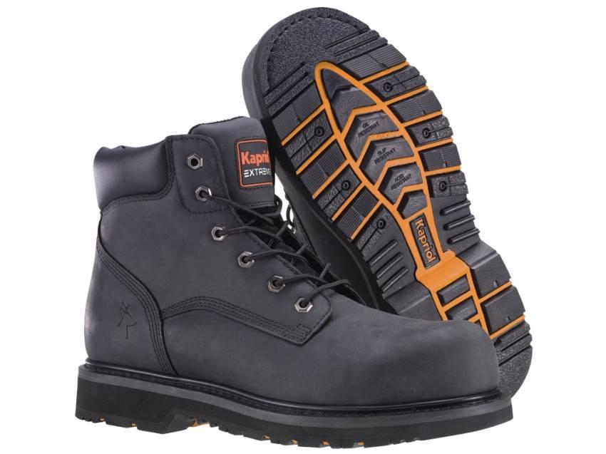 נעלי עבודה גבוהות HIGHLANDER BLACK