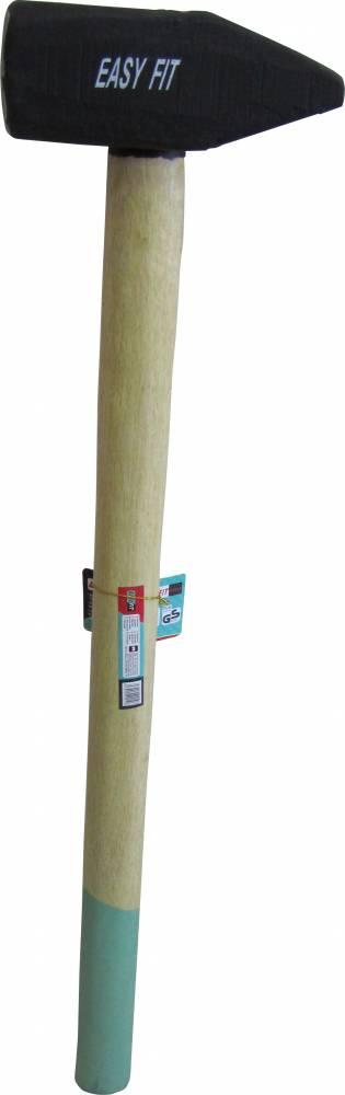 פטיש פלדה י עץ ארוכה EASYFIT