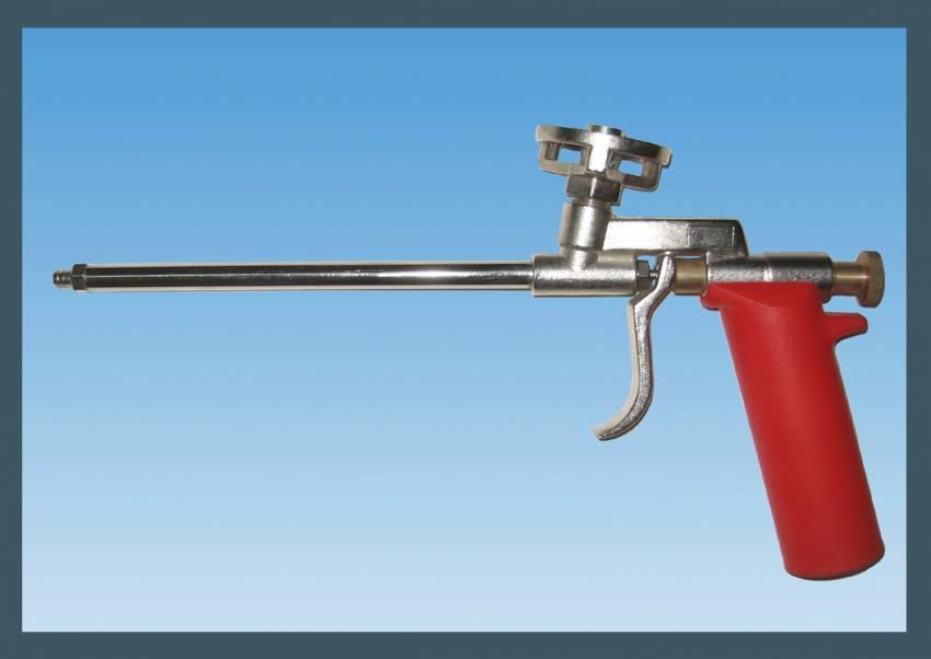 אקדח פוליאורטן מוקצף מתכת CY-018101