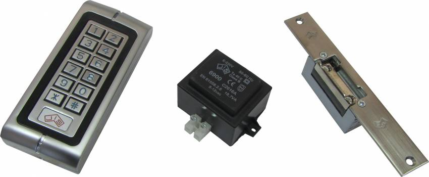 סט מנעול חשמלי + קודן 6501 JIS