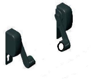 07833500 מנגנון בהלה מפעיל מנעול AP100 שחור