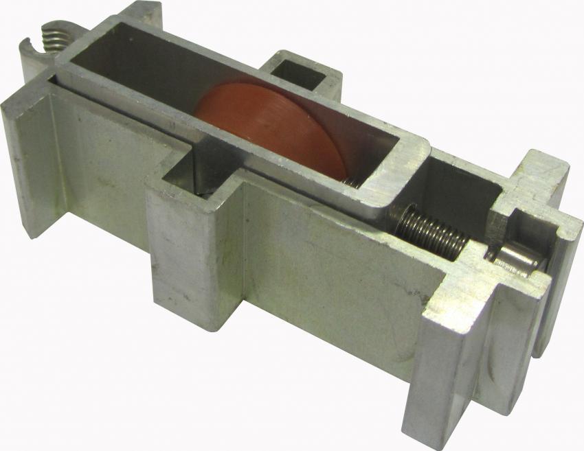 גלגל 7300 יחיד GG-73YCל-כתום מתכוונן אלומיניום