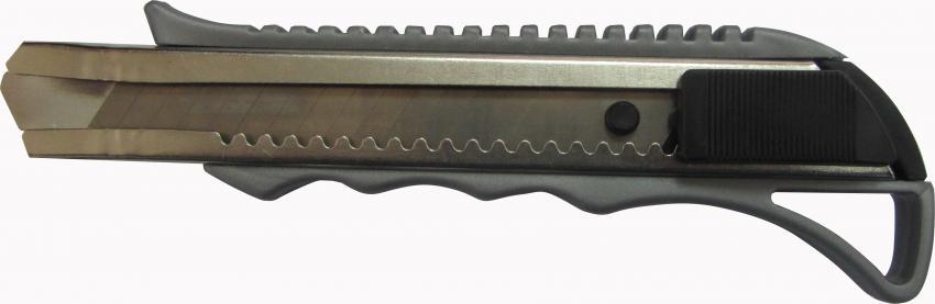 סכין ת-מתכת ת-אוטומטי כסוף 6808 בפלקט