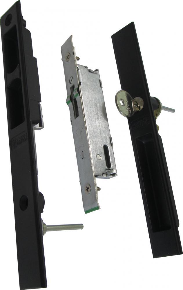 מנעול (סגר) הזזה + צילינדר CORNI YALE 90000100/200