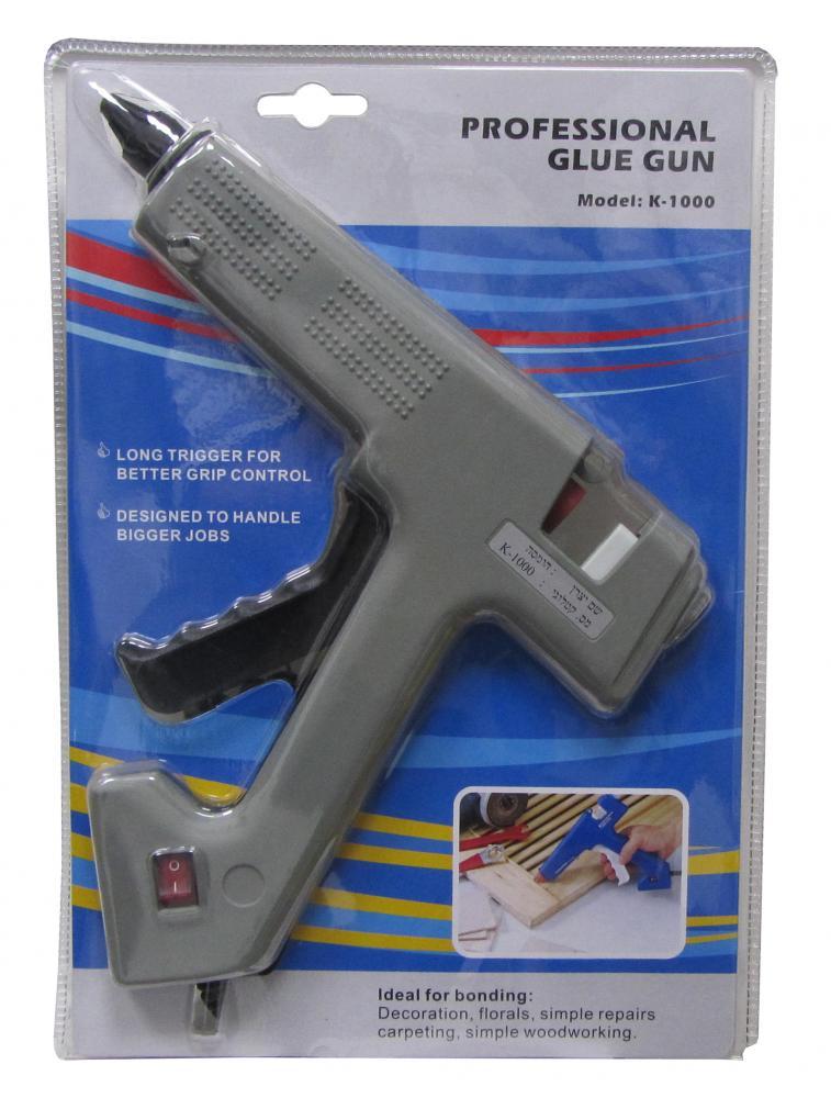 אקדח דבק חם מקצועי H.D T.W 100W דגם K-1000